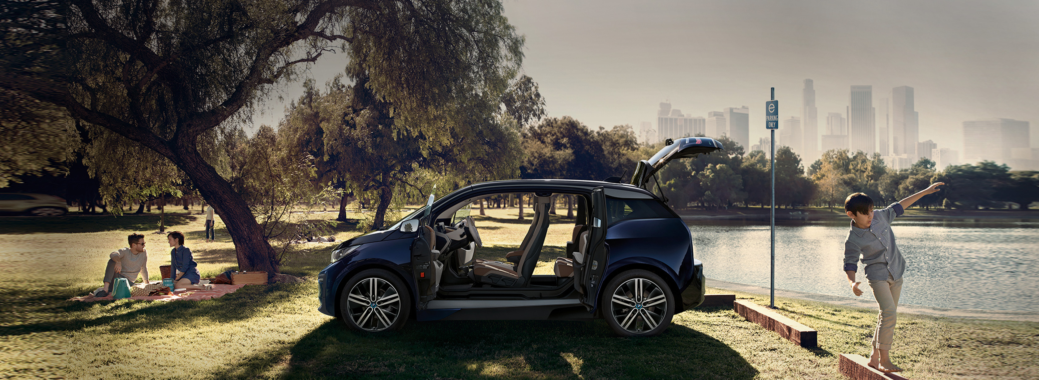 BMW i3 cu ecotichet