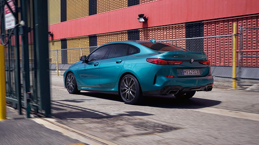 BMW Seria 2 Gran Coupé Design Spate