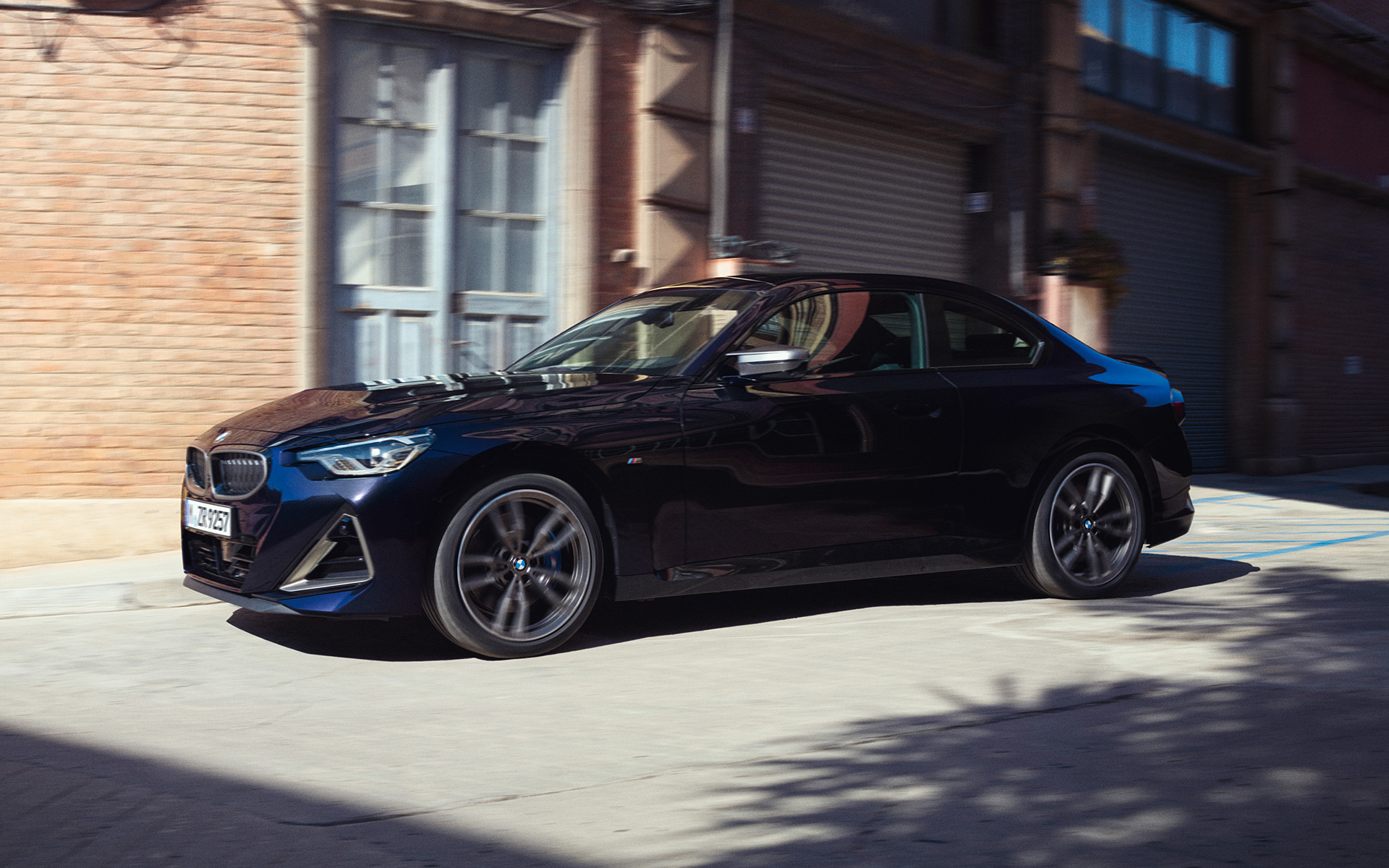 BMW M240i xDrive Coupé Design Lateral