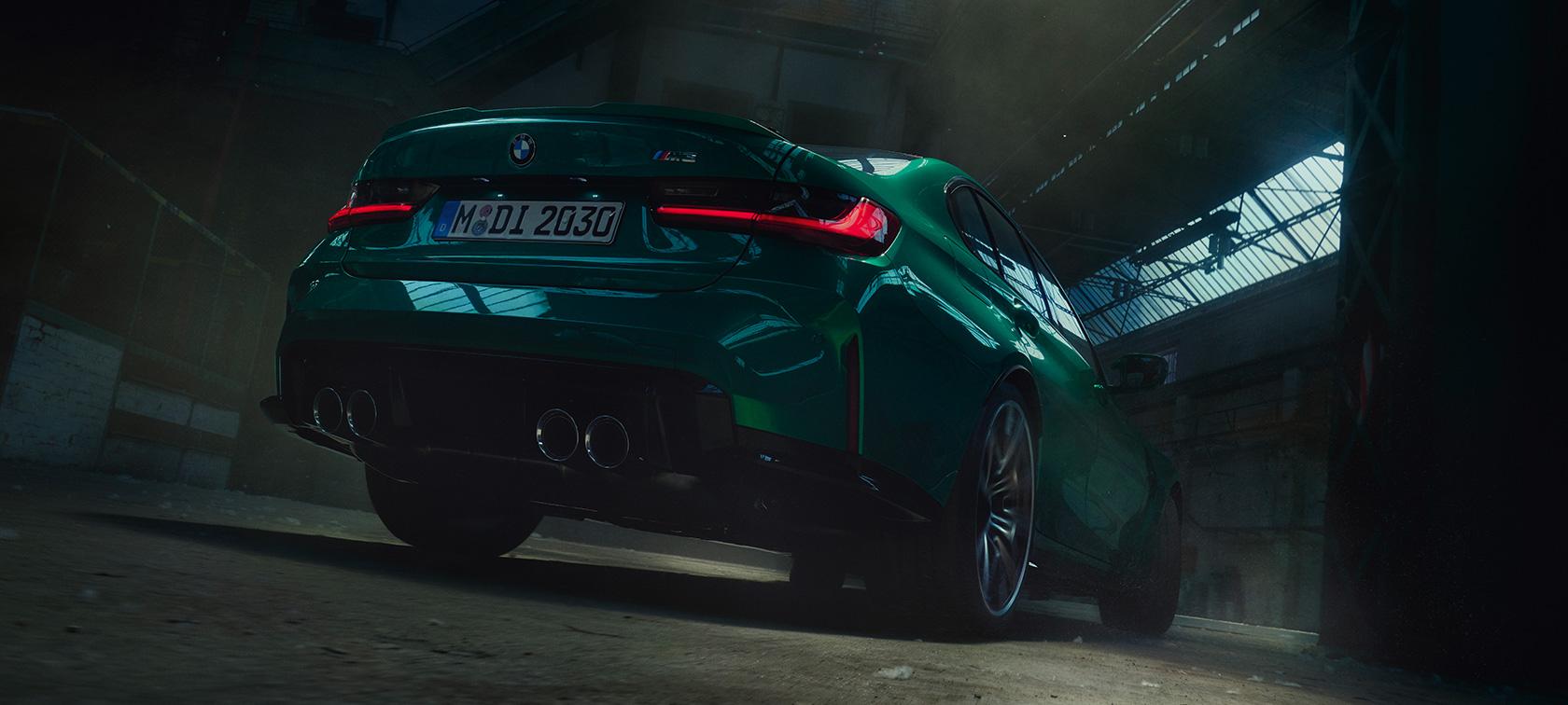 BMW Seria 3 Sedan M Design Spate