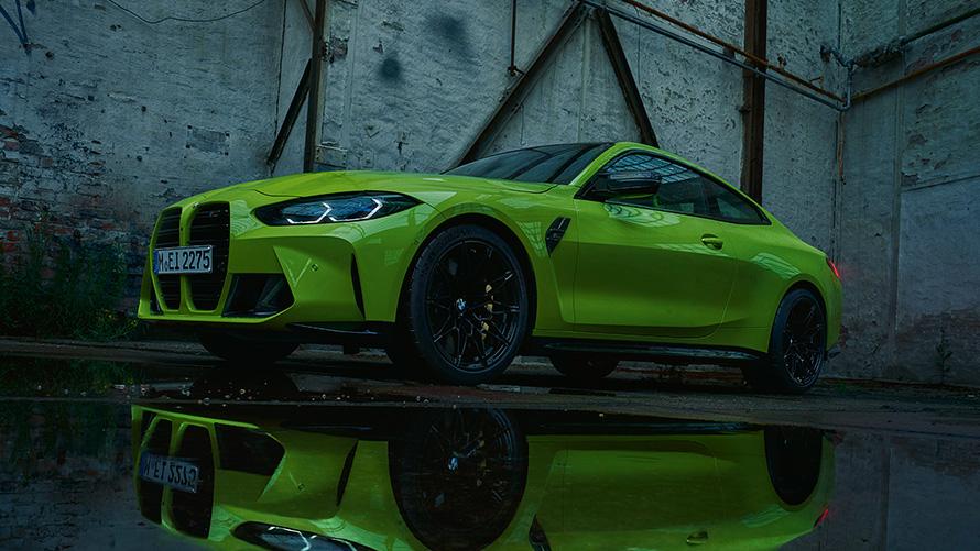 BMW M Seria 4 Coupé Design Frontal