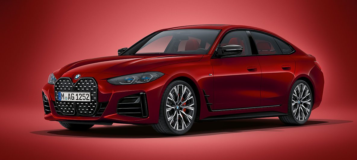 BMW Seria 4 Gran Coupé Design Frontal
