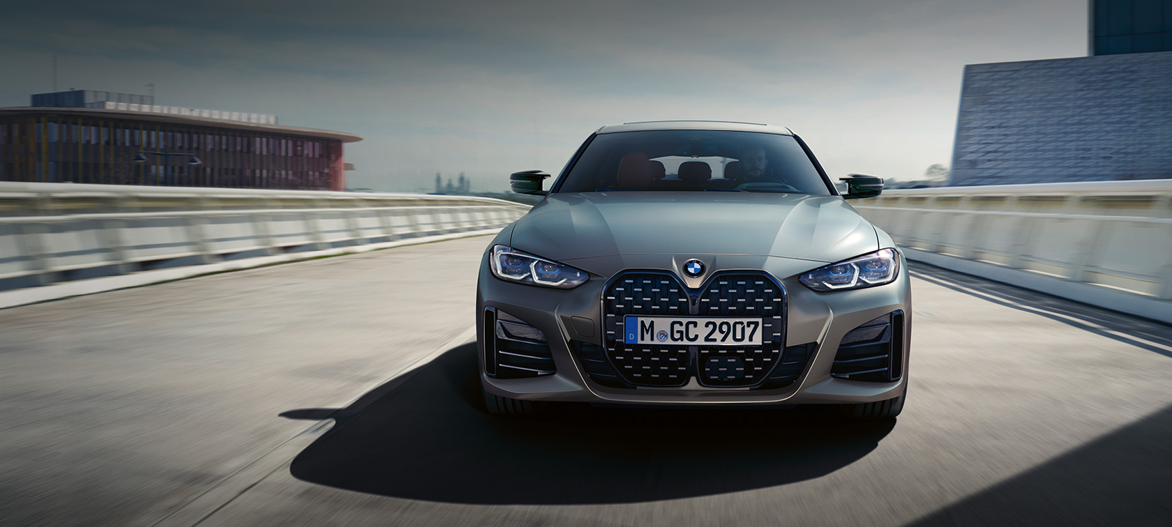 BMW Seria 4 Gran Coupé M. Frontal