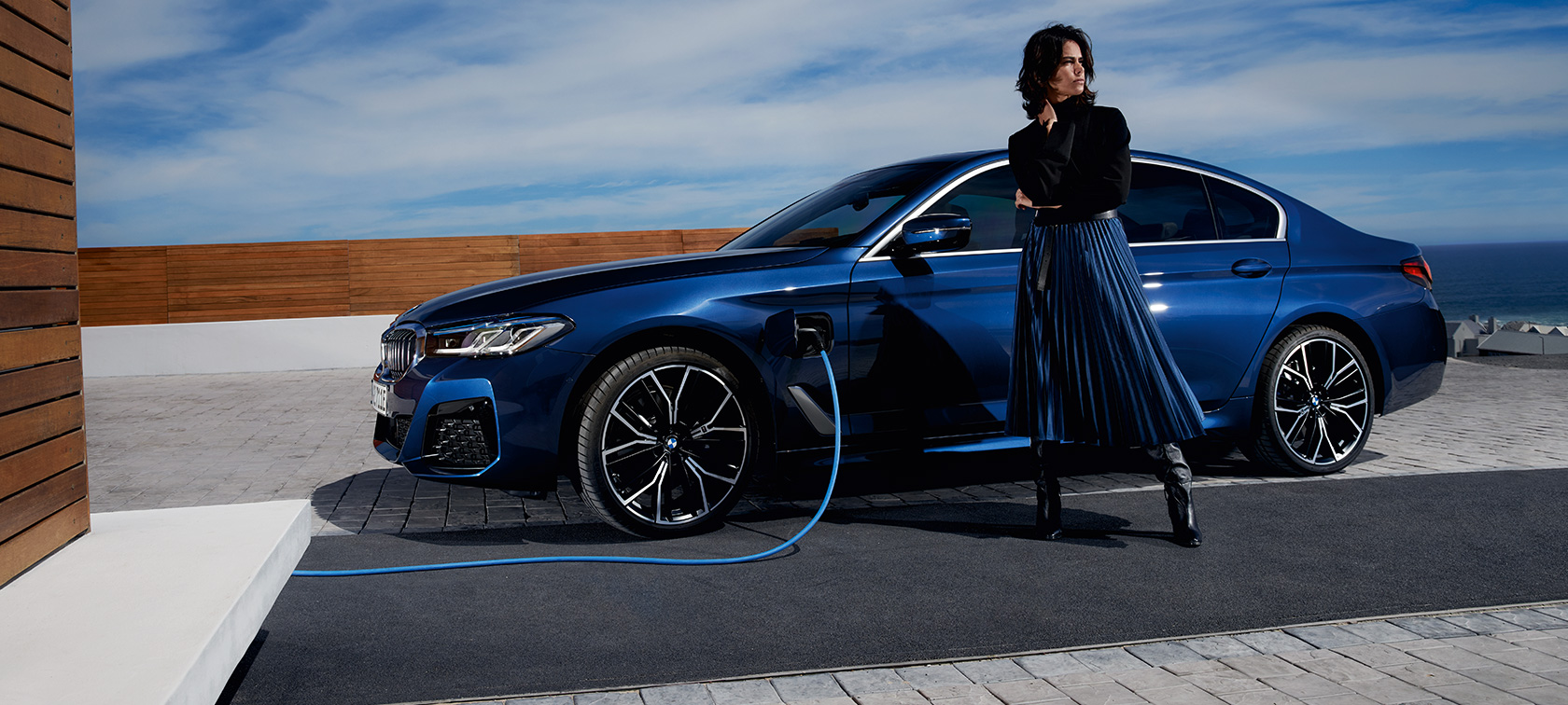 BMW Seria 5 Sedan Plug-in Hybrid Panorama