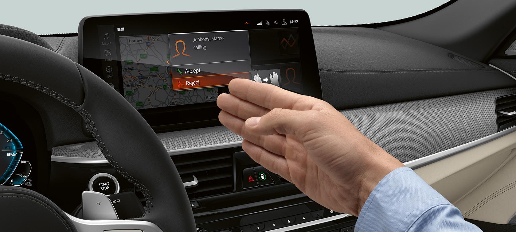 BMW Seria 5 Sedan Plug-in Hybrid Asistență La Board