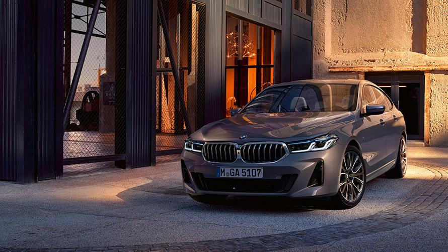 BMW Seria 6 Gran Turismo Design Frontal