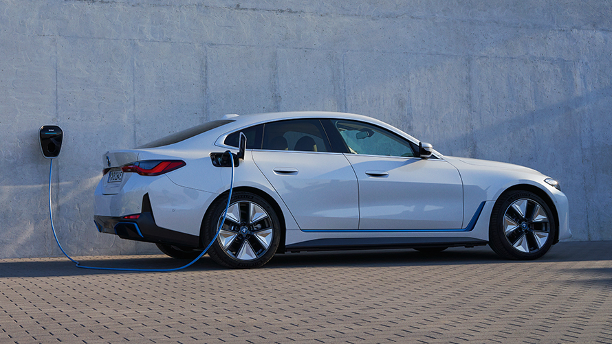 BMW i4 Design Lateral