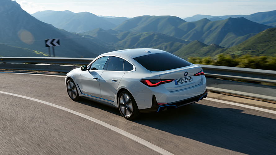 BMW i4 Design Spate