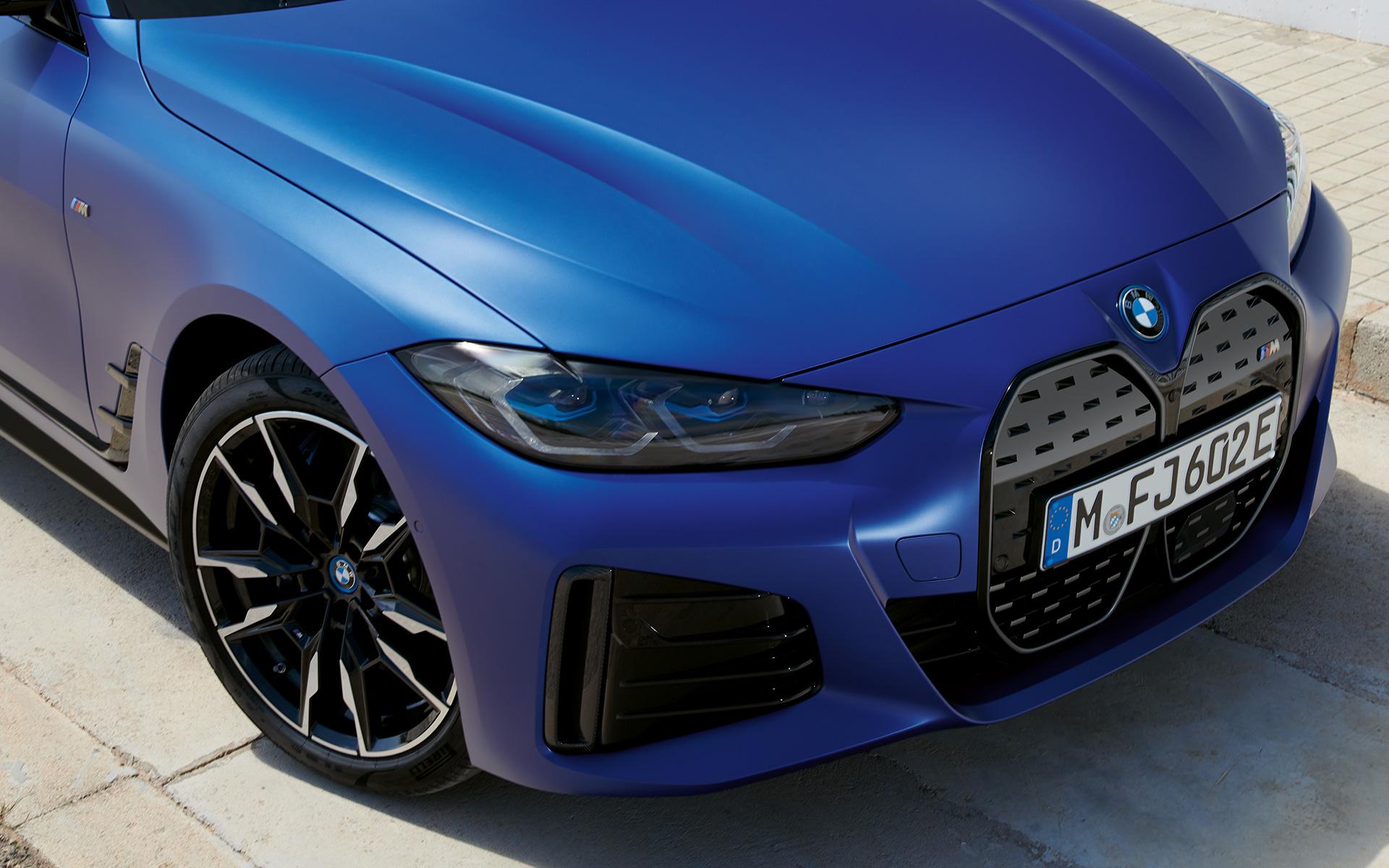 BMW i4 M50 Design Frontal