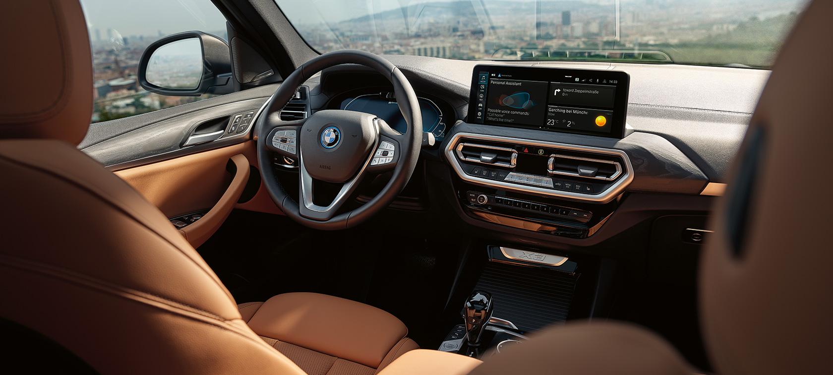 BMW X3 xDrive30e Design Interior