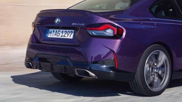 BMW Seria 2 Coupé Design Spate